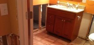 Sewage Overflow in Bathroom