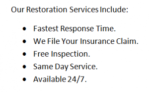 Call 911 Restoration Today