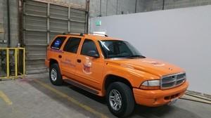 Fire Restoration Van At 911 Restoration Headquarters