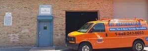 Water Damage and Mold Removal Vehicle
