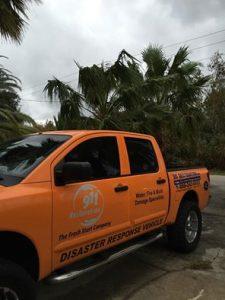 911 Restoration Emergency Truck
